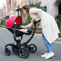 neugeborene babykörbe großhandel-2018 neue hohe Ansicht Kinderwagen 3 in 1 Multifunktions Neugeborenes Baby Schlafkorb Auto Sicherheitsstuhl Schaukelstuhl