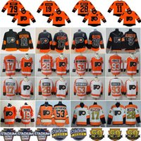 1fc29216a 2019 Stadium Series Philadelphia Flyers 79 Carter Hart Jersey Nolan Patrick  Ivan Provorov Travis Konecny Claude Giroux Hockey Men Kids Women