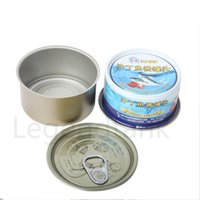 Wholesale oil can silicone resale online - dab oil wax silicone jar plastic clear container Aluminum Containers tin can packaging tobacco cigarette case