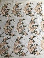 эластичная черная ткань оптовых-Хорошее качество дизайнер кружева черный белый платье ткань эластичная сетка тюль ткань для юбки DIY материал