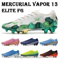 Wholesale mercurial vapor soccer boots resale online - GIFT BAG Mens Low Ankle Football Boots Dream Speed CR7 Mercurial Vapors Elite FG Soccer Shoes Superfly XIII ACC Soccer Cleats