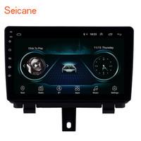 radio navegación para audi al por mayor-Android 8.1 9 pulgadas HD Pantalla táctil Radio de navegación GPS para coche para 2013-2017 AUDI Q3 con soporte Bluetooth WIFI DAB + DVR TV digital Cámara trasera