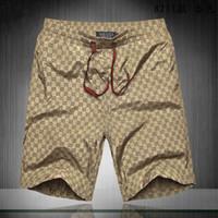 pantalon imperméable homme achat en gros de-2019 Pantalon de survêtement en tissu imperméable Pantalon de plage d'été Short de surf pour homme