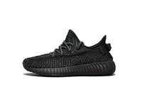 купить черные туфли оптовых-Купить Kanye West Black Static обувь оптовые продажи с коробкой новые Kanye West кроссовки бесплатная доставка US5-US13