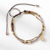 pulseira pequenos sinos venda por atacado-Jóia do desenhista de cristal frisado pulseiras pequenos sinos pingente de tecelagem pulseiras cadeia de corda para as mulheres moda quente
