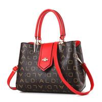 Wholesale black white hand bag resale online - 2019 Luxury Handbags Women Bags Designer Brand Women Leather Handbag Shoulder Bag Women Ladies Hand totes bags Sac A Main