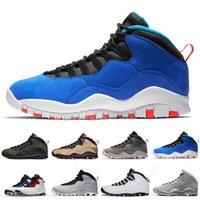 erkekler için serin basketbol ayakkabıları toptan satış-Gri Erkekler Kadınlar Basketbol Soğuk 2006 Im Geri 10 10S Tinker Çimento Westbrook Sınıf Sneakers 10s X sporu Tasarımcı Shoes