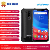 Wholesale armor screen for sale – best 6GB GB uleFone Armor IP68 IP69K Waterproof G LTE Bit Octa Core MTK6771 quot Notch Full Screen FHD NFC Wireless Charge Smartphone