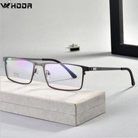Wholesale optical spring hinges for sale - Group buy Ultralight Business Men s Metal Optical Glasses Frames for Myopia Hiperopia Spring Hinge Prescription Eyewear Glasses Frame