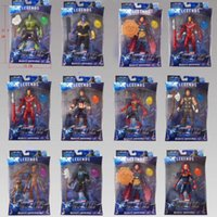 jouets en mouvement achat en gros de-2019 Nouvelle arrivée Avengers 4 Figurines Marvel Surprise des poupées Thanan de capitaines Son avec lumière et émotion