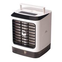 controles remotos de aire acondicionado al por mayor-Arctic Air Cooler Aparatos de aire acondicionado pequeños Mini ventiladores Ventilador de enfriamiento de aire Acondicionador portátil al aire libre de verano 2019 Nuevo control remoto