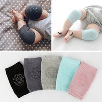 Wholesale knees protector baby kids elbow pads resale online - 1 Pair Baby Knee Pad Kids Safety Crawling Elbow Cushion Infant Toddler Leg Warmer Knee Support Protector Baby Pads