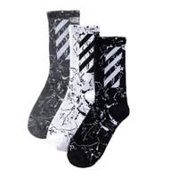 хараюку носки оптовых-мужские женские дизайнерские фирменные носки носки бренда Tide с оригинальным стилем Harajuku новые диагональные полосы хлопчатобумажные носки спортивные новый стиль