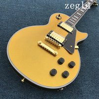 Wholesale Guitar - Top Quality New arrive Custom Shop yellow Electric Guitar, Wholesale, Real photo shows