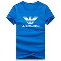 tee bälle großhandel-Mens Designer T-Shirts Kurzarm T-Shrits Big Size Mode 100% Baumwolle T-Shirt Herrenmode Sport Fußball Ball Wear Casual Tee DXJP-YD