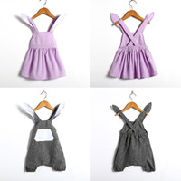 Wholesale easter clothing for girls for sale - Group buy Easter Baby Clothing Bunny Bodysuit for Baby Boy Girl D Rabbit Ears Overalls Bunny Suspender Pants Girls Rabbit Dress Kids Clothes M1021