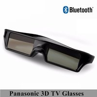3d gözlük toptan satış-BÜYÜK İNDİRİM! 3D Televizyonlar Evrensel TV 3D Gözlük Samsung için YÜKSEK QUALIT Bluetooth 3D Shutter Aktif Gözlük