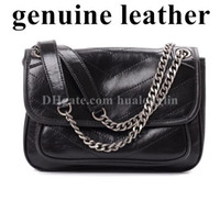 Wholesale discount totes for sale - Group buy Genuine Leather High Quality Women Messenger Bag Handbag Purse Tote discount