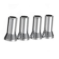 Wholesale alloy valve stems resale online - 4PCS Chrome Alloy Plastic Caps Universal Silver Wheel Tyre Valve Caps Stem Dust Cover Airtight Cover