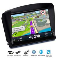 igo gps großhandel-7 Zoll GPS-Navigator 8G 256MB Kit WINCE6.0 RMVB, ASF, AVI, WAV, WMV9, usw. IGO / navitel mit Sun FM Zoll-Schild