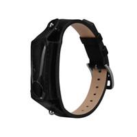 xiaomi para la venta al por mayor-Susenstone 2018 moda correa de reloj de lujo correa de cuero marca para Xiaomi Mi Band 2 Correa Reloj Saat Kordonu regalo venta caliente