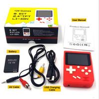 pad de couleur portable achat en gros de-SUP 400 IN 1 Console de jeu console de jeu portable PAD GAME avec boîte de vente au détail JEUX Couleur LCD Game Player meilleur pour le cadeau de Noël