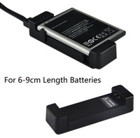 Wholesale mobile phone s4 battery resale online - Universal Mini USB Mobile Phone Extra Battery Charger Charging Dock Cradle For Samsung s3 s4 Mini S5 for Xiaomi LG Battery