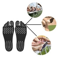 Wholesale big feet toys for sale - Group buy Adhesive Shoes Waterproof Foot Pads Stick On Soles Flexible Feet Protection Sticker Soles Shoes For Beach Pool