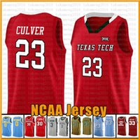 raiders jersey groihandel-23 Culver Texas Tech Red Raider NCAA Colloege Basketball Jersey Murray State Racers Universität 23 James 2 Leonard 3 Wade 11 Irving 30 Curry