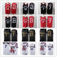 Wholesale toronto jersey boys resale online - Pascal Siakam Toronto Raptors Jersey Tracy McGrady Vince Carter Lowry VanVleet City Edition Basketball Jerseys