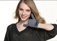 iphone mãos livres para correr venda por atacado-Hot Bluetooth Luvas Fones De Ouvido Estéreo Sem Fio Correndo Fones De Ouvido Estúdio de Música Handsfree fone de ouvido fone de ouvido Para iPhone