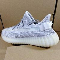 ingrosso burro di qualità-2019 Adidas Yeezy 350 Boost V2 di alta qualità Womens V2 sport Static Butter Cream Bianco mens Kanye West Scarpe da corsa Sesame sneakers Beluga 2.0 Zebra