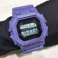 relojes cuadrados de goma para mujer al por mayor-LED de visualización digital de pulsera para hombre de las mujeres del dial cuadrado de deportes de los relojes de regalo correa de caucho de silicona estilo sacudida eléctrica los relojes