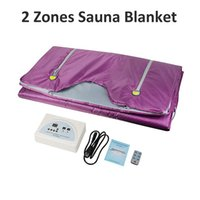 Wholesale fir heating for sale - Group buy FIR Sauna Far Infrared Body Slimming Sauna Blanket Heating Therapy Slim Bag Sauna Thermal Blanket Body Detox Machine
