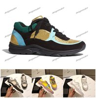 Wholesale new popular sneakers resale online - 2019 New Luxury France Suede Leather Casual Shoes Men Women Designer Sneakers Popular Mixed Tennis Color Sneaker Dad Shoes chaussures