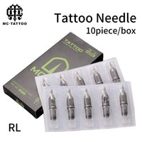 10pcs Disposable Tattoo Cartridge Needles RL Sterile Needle for Rotary Machine Pen For Liner Supplies Free Shipping