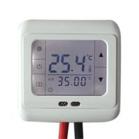 ingrosso regolatore di riscaldamento digitale-16A Digital Touch Screen Riscaldamento a pavimento Termostato Ambiente Controllo temperatura calda Controllo automatico con retroilluminazione LCD