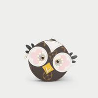 вешалка для цветов оптовых-Брелки Маленькая новая любовь птица кулон старый цветок бренда Брелки сумка висячие украшения творческий милый монет сумка кошелек автомобиль Брелки