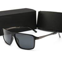 nouvelles lunettes d'été achat en gros de-PORSCHE DESIGN 8650 nouvelle mode vendre bien marque designer lunettes optiques cadre carré lentille claire été lunettes de style simple viennent avec boîte