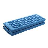 klappstühle gepolsterte sitze großhandel-ABLA Personalisierte Folding Schaum Wasserdichte Sitzkissen Stuhlkissen (blau)