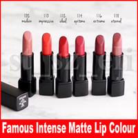 Wholesale luminous lipstick resale online - Famous Lip Makeup Aluminum tube maquillage Luminous Matte Lipstick Rouge Allure Velvet Lip Colour g Press Version Colors