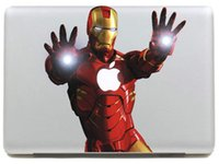 ingrosso adesivi per decalcomanie aeree macbook-Iron Man di ripresa Notebook Decal Sticker computer portatile per 11