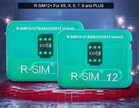 dispositif de déverrouillage de câble achat en gros de-R-Sim12 + RSIM12 + Déverrouillage pour Iphone XS X 8 7 Déverrouillage automatique du menu Déverrouillage pour iOS 12.2-12.3 VS R-SIM 14
