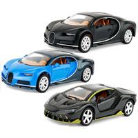 vehículos militares tanque al por mayor-Modelo Juguetes para niños regalo de cumpleaños Modelo de coches de juguete Pequeño aleación de decoración de la torta de simulación Negro Azul coche deportivo