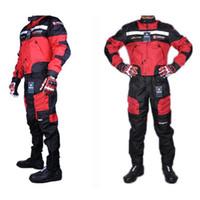 motocicleta motocross motocross venda por atacado-Tracksuits Casacos calças dos homens de alta qualidade Verão motocicleta Jacket Pants Corrida de Oxford Waterproof Motocross Suit Motorbike Jacket M-2XL