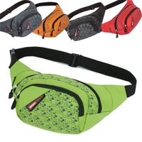 Wholesale waist bag patterns resale online - Outdoors Leisure Waist Bag Oxford Waterproof Chest Shoulder Bags Hiking Sports Zip Bag Pack Unisex New Pattern lnH1