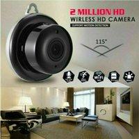dvr segurança de visão noturna sem fio venda por atacado-Mini Câmera sem fio Wifi IP Home Security HD 1080P DVR Visão noturna Remota