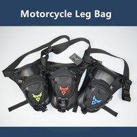 ingrosso sacchetto di vita esterno multifunzionale-2019 Nuovo Multifunzione Moto Messenger equitazione Hip Bum Vita Pack Drop Leg Cross Over Bag Outdoor Bike Cycling Bag