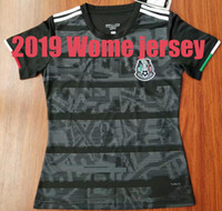 Wholesale mexico women home jersey resale online - 2019 Mexico jersey CHICHARITO home away G DOS SANTOS R MARQUEZ C VELA thai quality Mexico women soccer Jersey football shirt
