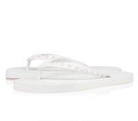 Wholesale beach men sandalias resale online - Summer Men Beach Slip On Slides Red Bottom Loubi Flip Flat Sandals Slippers Studs Sandals Fun Flats Luxury Designer Flip Flops Sandalias